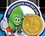 Zwaluwnest is uitgeroepen tot beste accommodatie 2014 van Limburg